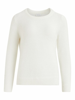 VIFEAMI O-NECK L-S KNIT TOP-SU logo
