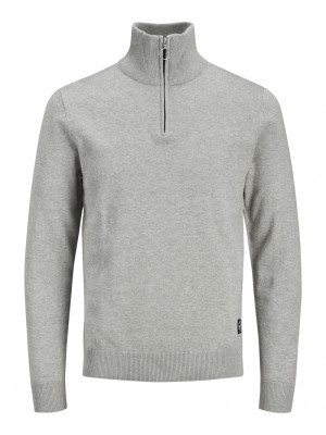 JORELI KNIT HIGH NECK ZIP logo