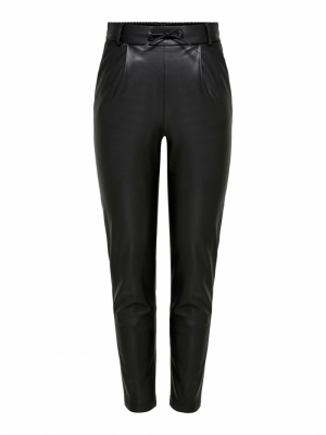ONLPOPTRASH FAUX LEATHER PANT logo