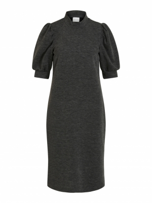 VIMANY 2-4 SLEEVE MEDI DRESS - logo