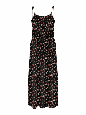 ONLNOVA LUX STRAP MAXI DRESS A logo
