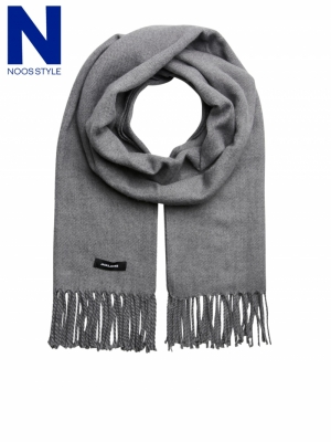 JACSOLID WOVEN SCARF NOOS logo