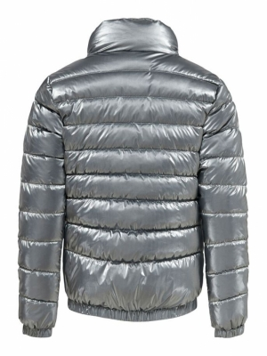 KONTALIA SHINE QUILTED JACKET 177931 Silver
